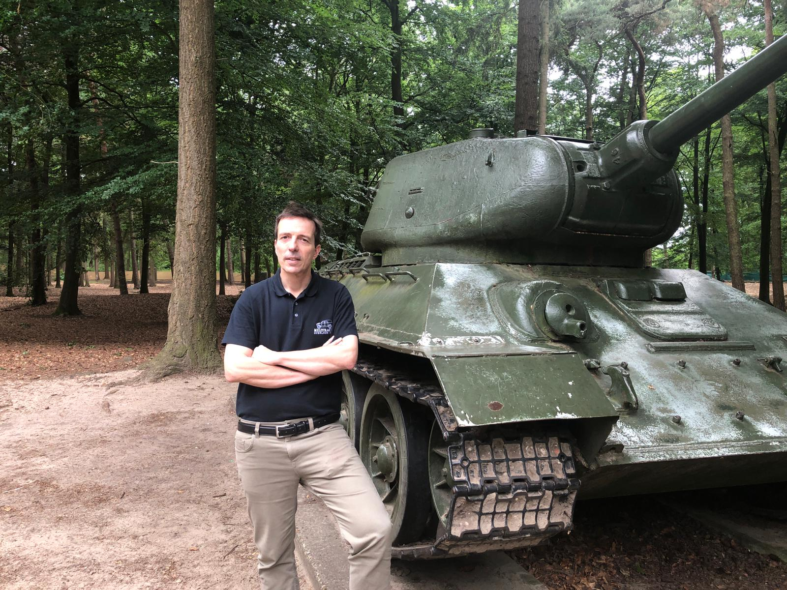 Directeur Erik van den Dungen Oorlogsmuseum Overloon