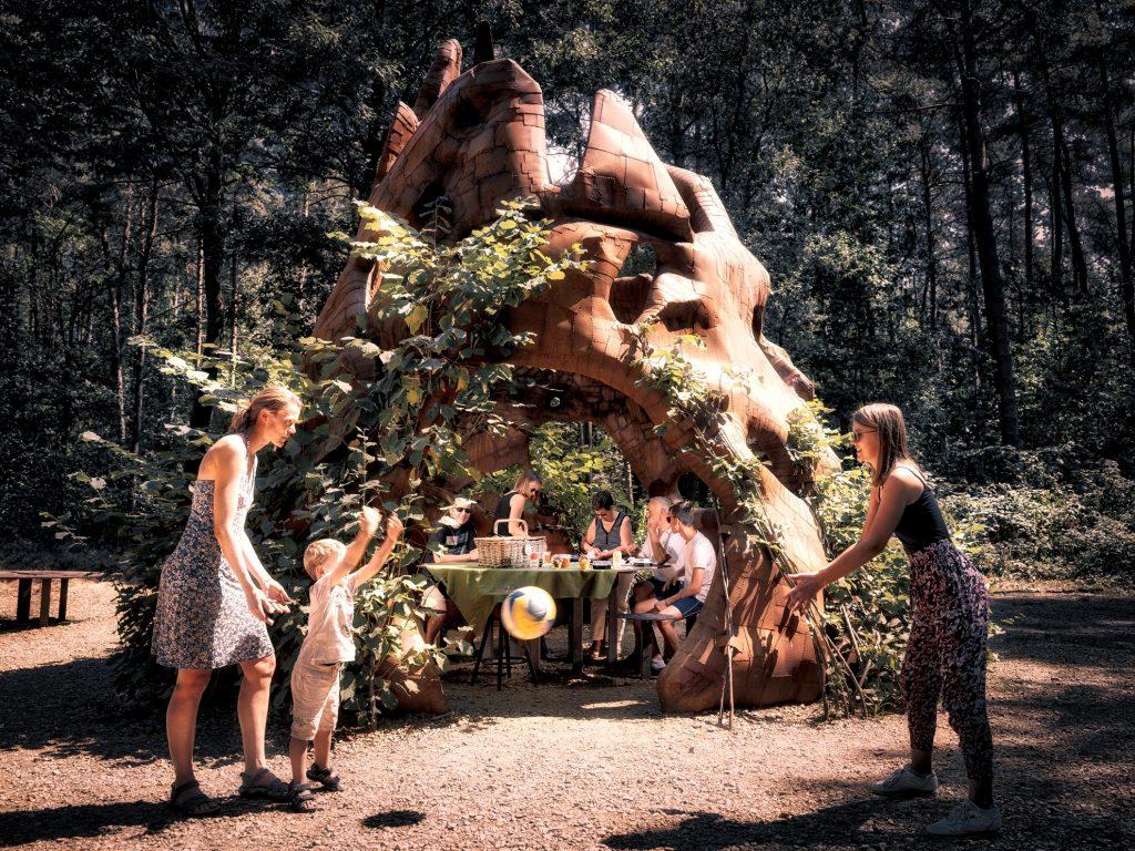 Picknicken Kattevennen natuurpark